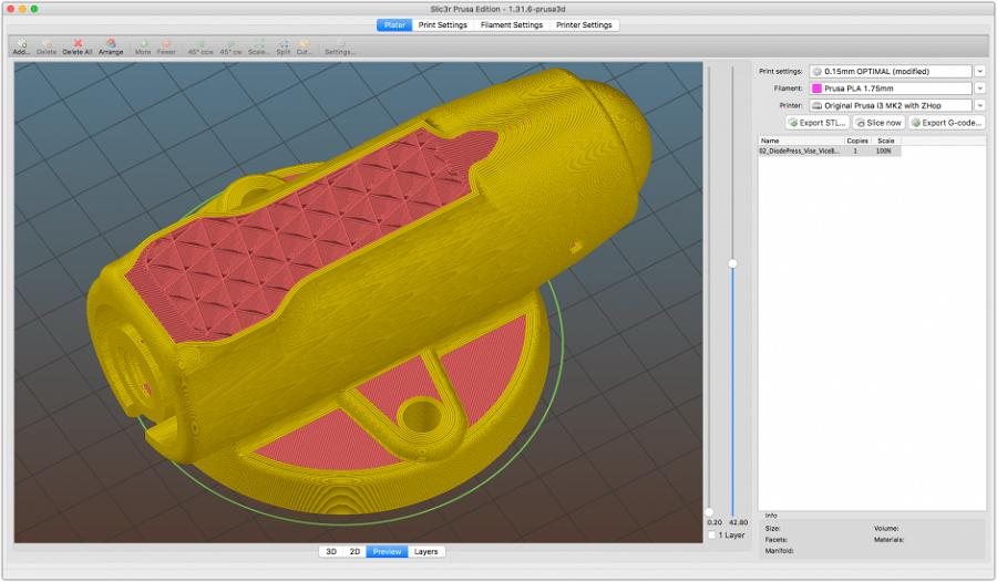 фото Обзор слайсеров для 3Д печати 16