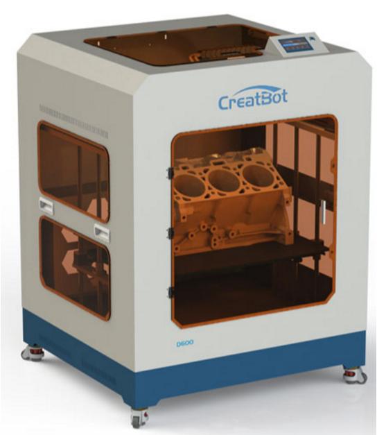 Фото 3D принтера CreatBot D600 1