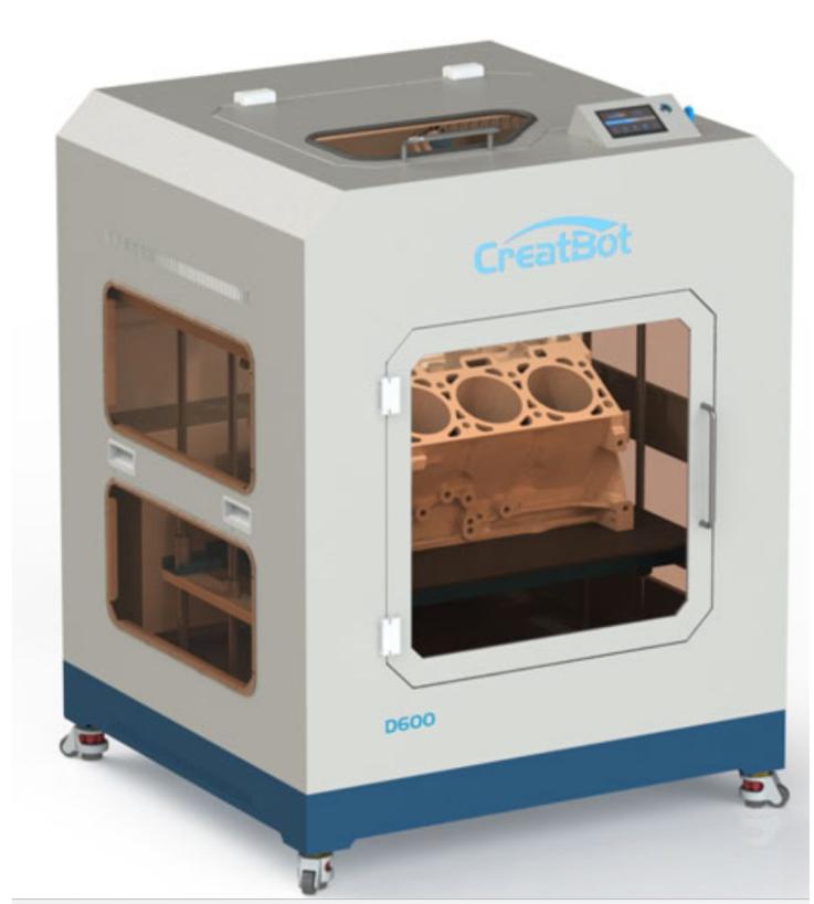 Фото 3D принтера CreatBot D600 PRO 1