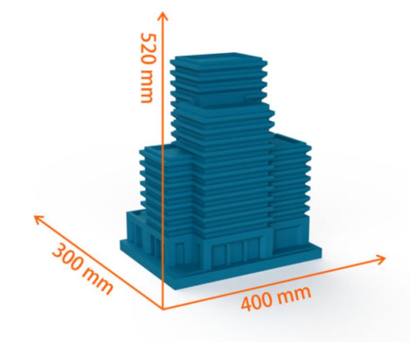 Фото 3D принтера CreatBot DE PLUS 2