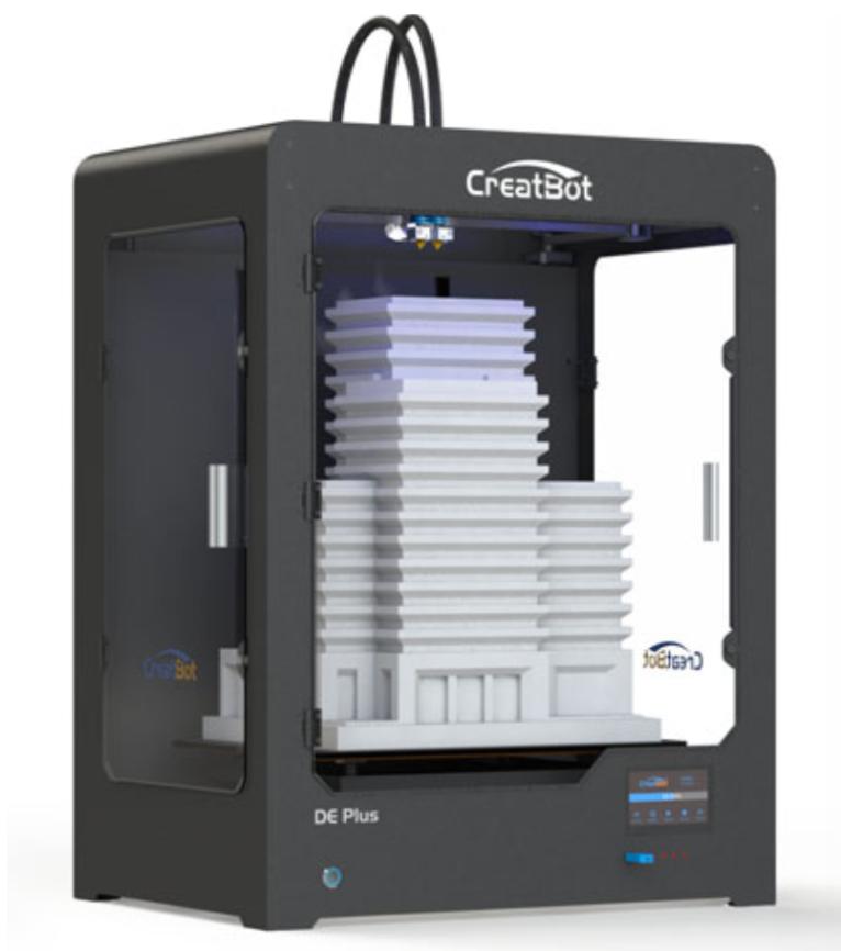 Фото 3D принтера CreatBot DE PLUS 3