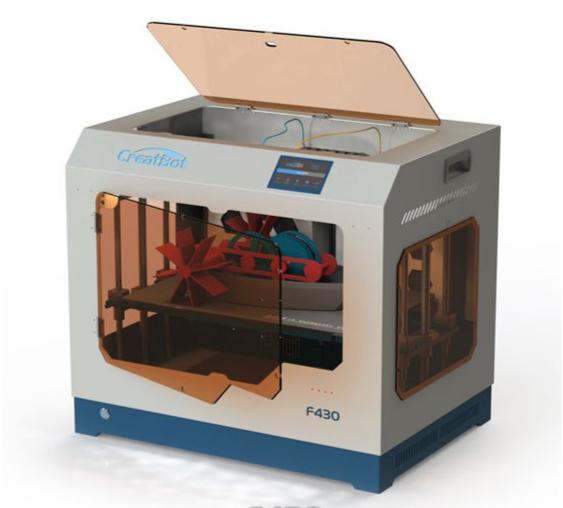 Фото 3D принтера CreatBot F430 (PEEK version) 2
