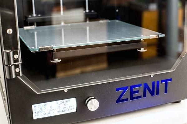 Фото 3D-принтера ZENIT 3D HT 2