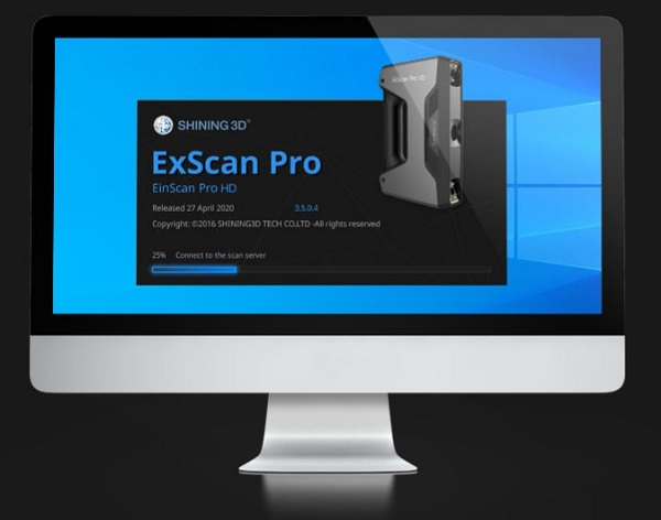 Фото 3D сканера Shining Einscan Pro HD с Solid Edge 12