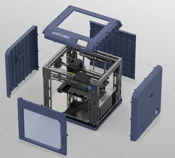 Фото 3D принтера Anycubic 4Max Pro 2.0 10
