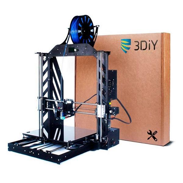 Фото 3D принтера Bizon Prusa i3 Steel V2 300x300 мм (набор для сборки) 1