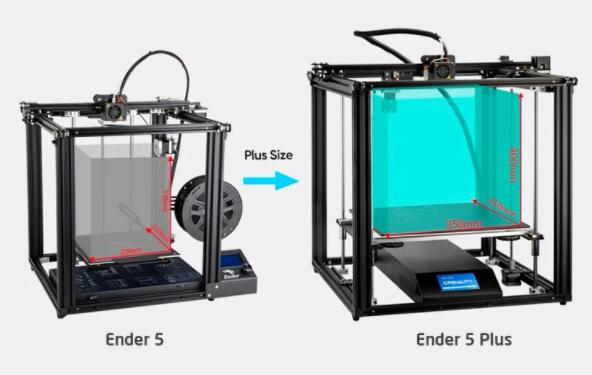 Фото 3D принтера Creality Ender 5 Plus 7