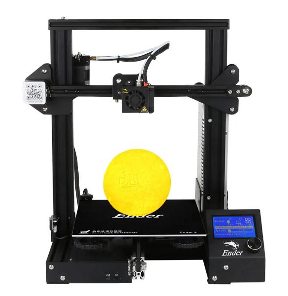 Фото 3D принтера Creality3D Ender 3 5