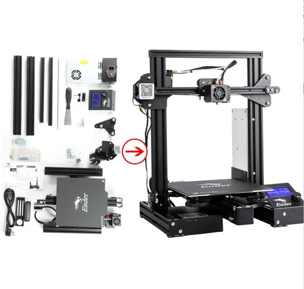 Фото 3D принтера Creality3D Ender 3 Pro 1