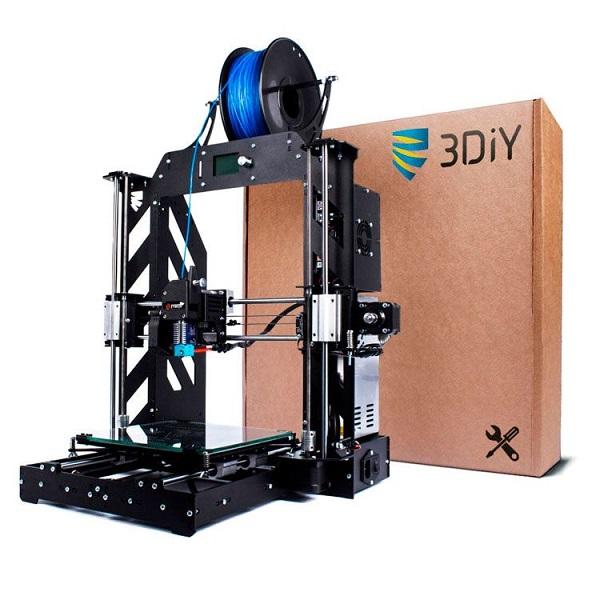 Фото 3D принтера Prusa i3 Steel V2 (набор для сборки) 1