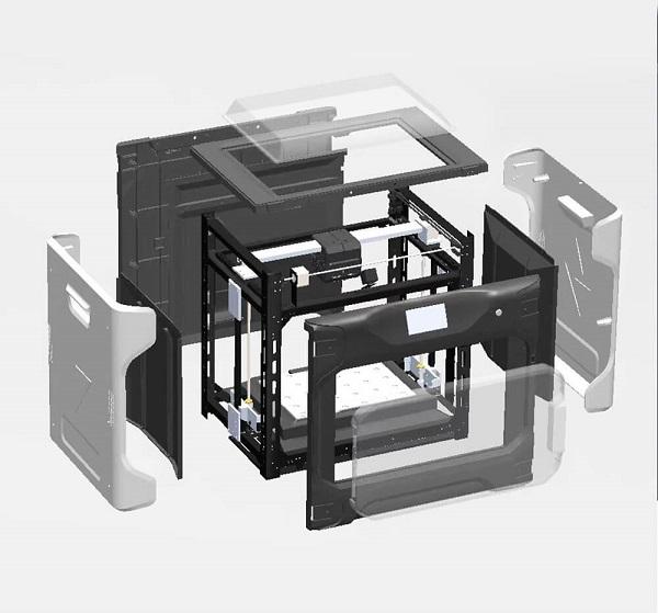 Фото 3D принтера QIDI Tech i-Fast 4