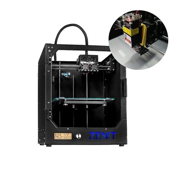 Фото 3D принтера Zenit DUO SWITCH + лазер