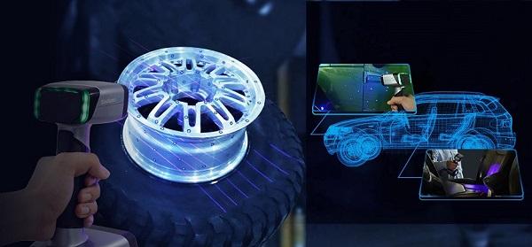 Фото 3D сканера Shining 3D Einscan HX 5