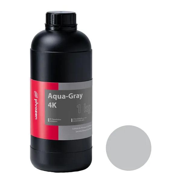 Фото фотополимера Phrozen Aqua 4K, серый (1 кг)