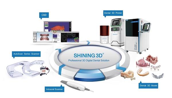 Фото интраорального сканера Shining 3D Aoralscan 10