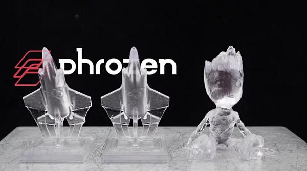 Изображение модели, напечатанной фотополимером Phrozen SC-801 прозрачный (3)