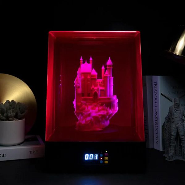 Фото УФ-камеры для дополнительного отверждения моделей Phrozen Cure Luna 4