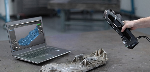 Фото 3D сканера Creaform Go!SCAN SPARK 2