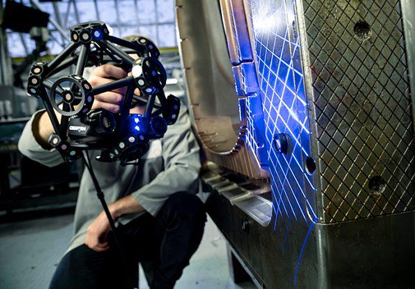 Фото 3D сканера Creaform MetraSCAN BLACK Elite 4