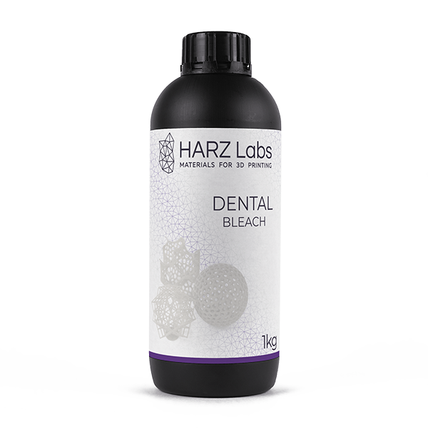 Фото фотополимера HARZ Labs Dental Bleach 1 кг 1