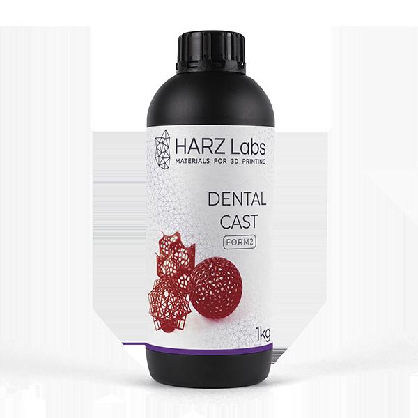 Фото фотополимера HARZ Labs Dental Cast Form 2 1 кг 1