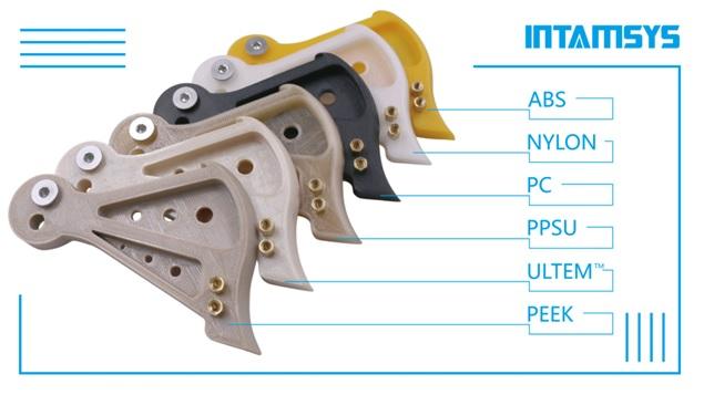 Фото Intamsys инженерные пластики - примеры использования