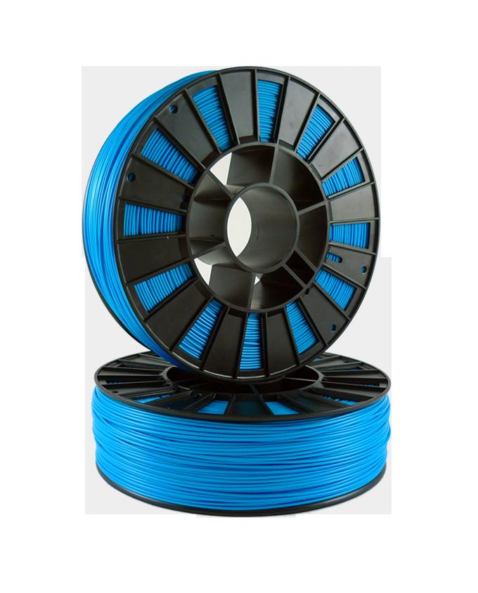 Фото PLA пластика 1,75 SEM голубой 1
