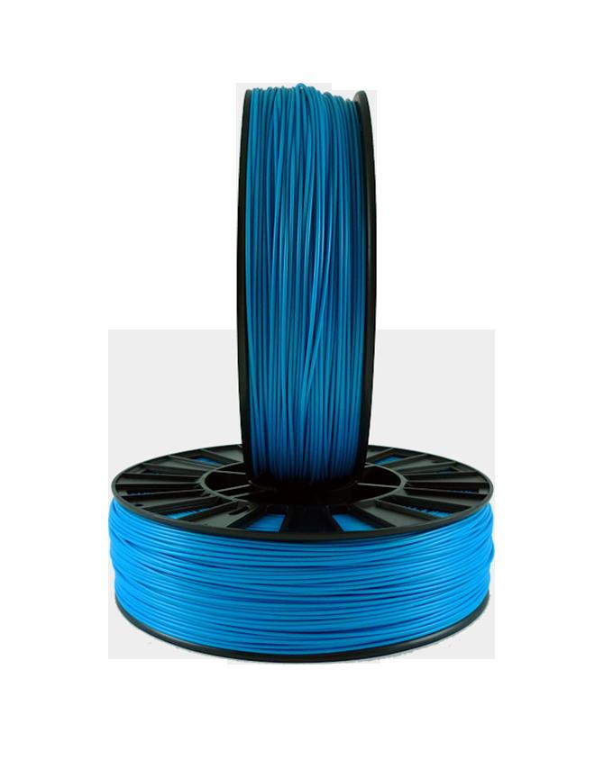 Фото PLA пластика 1,75 SEM голубой 2