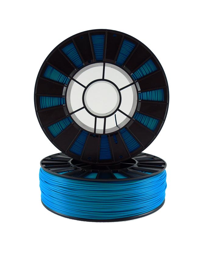 Фото PLA пластика 1,75 SEM голубой 3
