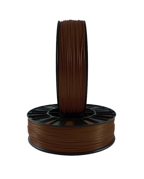 Фото PLA пластика 1,75 SEM коричневый 2