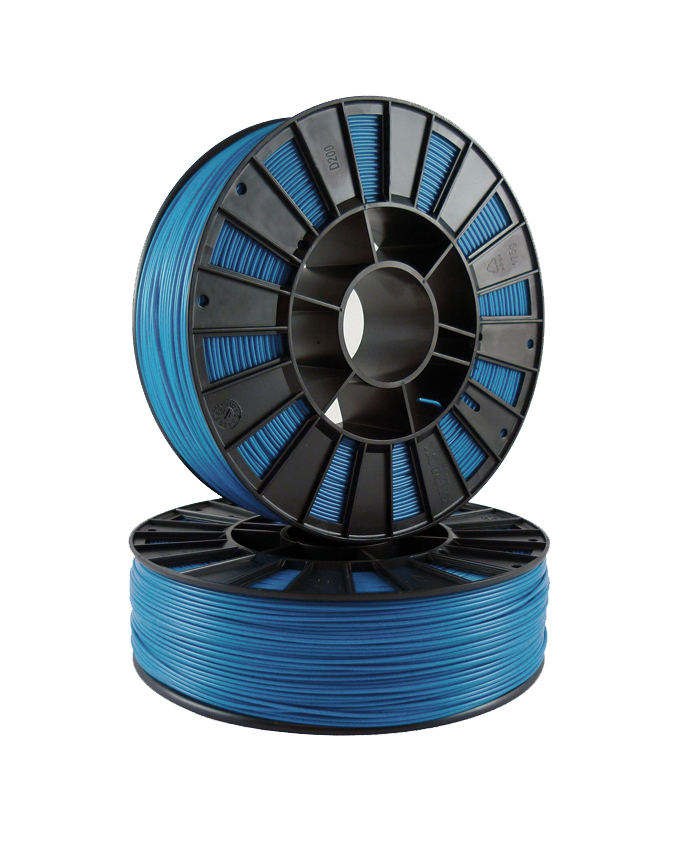 Фото PLA пластика 1,75 SEM синий металлик 1
