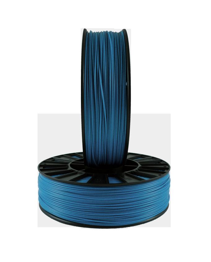 Фото PLA пластика 1,75 SEM синий металлик 2