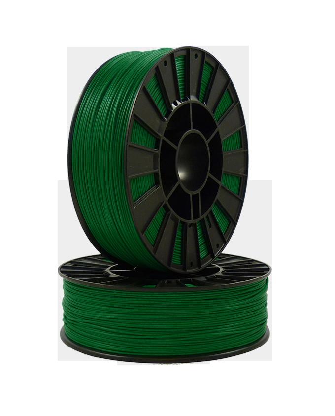 Фото PLA пластика 1,75 SEM тёмно-зеленый 1