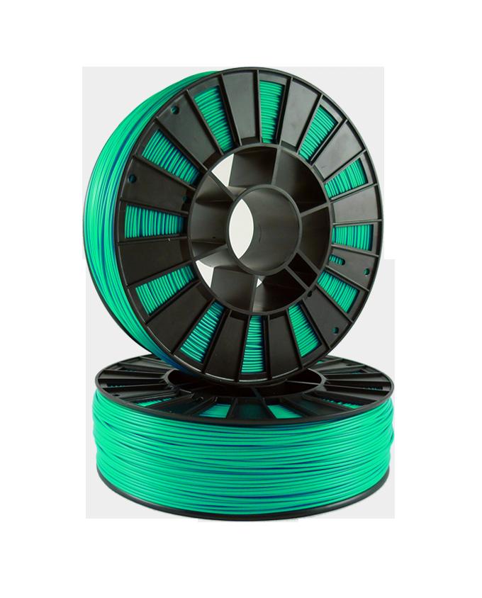 Фото PLA пластика 1,75 SEM зеленый металлик 1