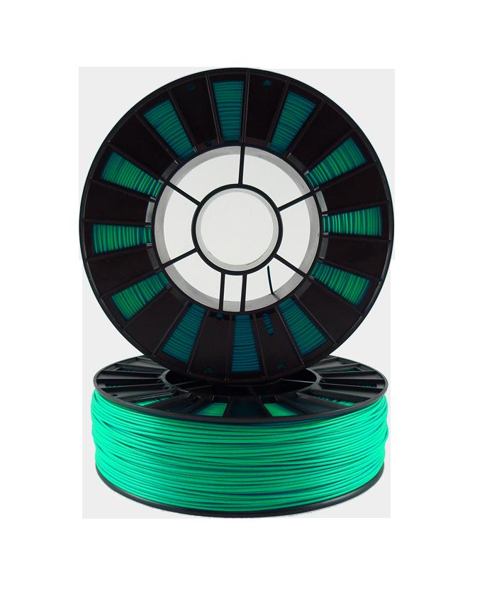 Фото PLA пластика 1,75 SEM зеленый металлик 2