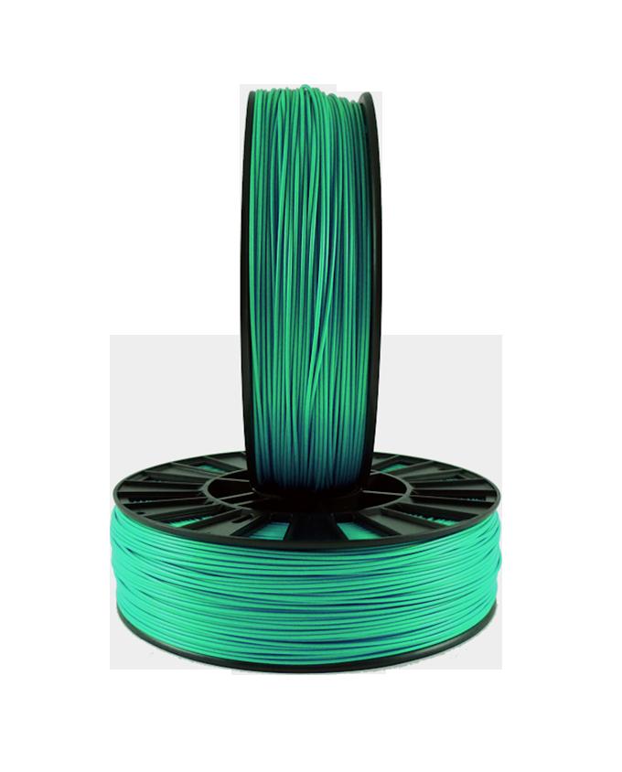 Фото PLA пластика 1,75 SEM зеленый металлик 3