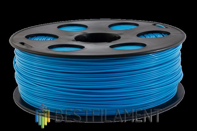 Фото пластика Bestfilament PETG голубой 1.75 мм, 1 кг