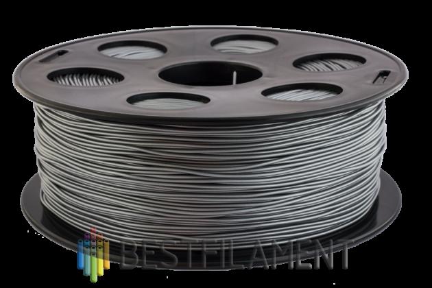 Фото пластика Bestfilament PETG серебристый металлик 1.75 мм, 1 кг
