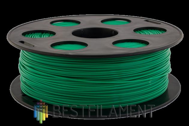 Фото пластика Bestfilament PETG зеленый 1.75 мм, 1 кг