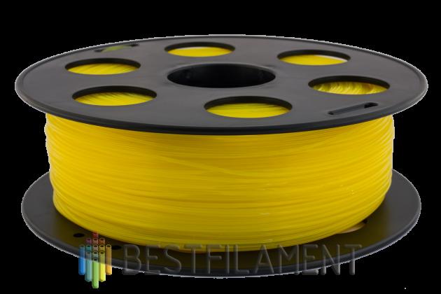 Фото пластика Bestfilament PETG желтый 1.75 мм, 1 кг