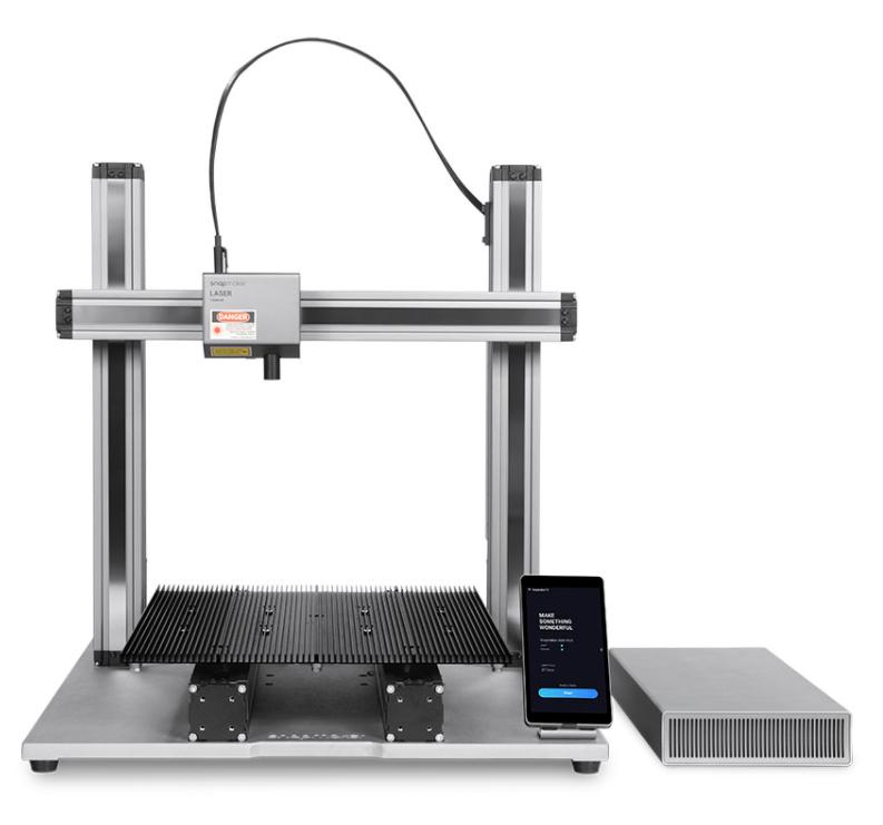 Фото модульного 3D принтера Snapmaker 2.0 A350 3в1 3
