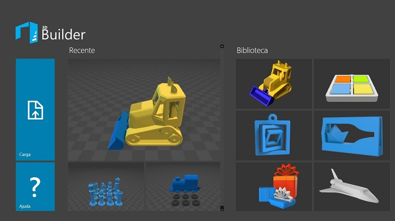 Фото программа 3D-Builder